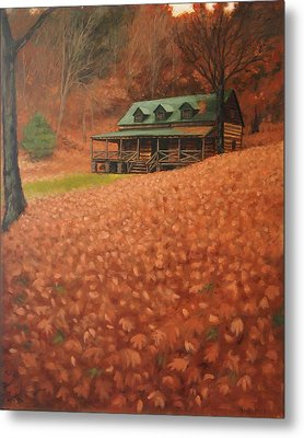 October Weekend Metal Print by Suzanne Shelden