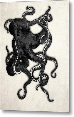 Octopus Metal Print by Nicklas Gustafsson