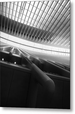 Oculus Abstract Metal Print by Jessica Jenney