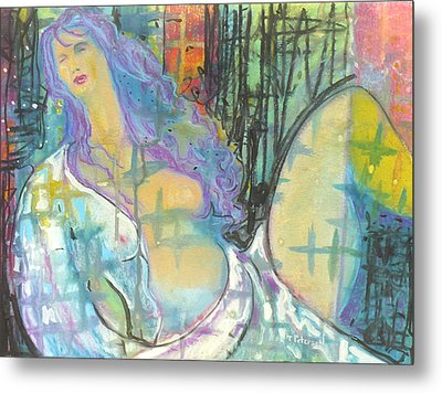 Odalisque Metal Print by Todd  Peterson