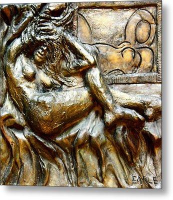 Odalisques Metal Print by Dan Earle
