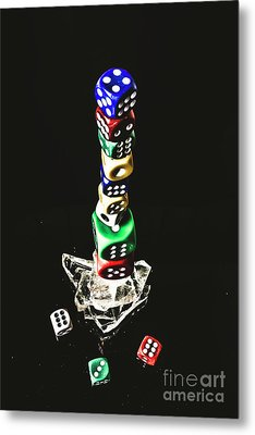 Odds Stacked Up Metal Print by Jorgo Photography - Wall Art Gallery