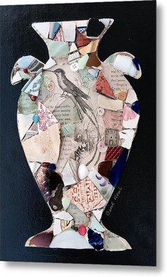 Ode To A Broken Urn Metal Print