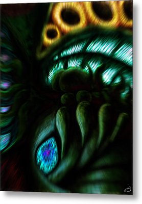 Ode To Lovecraft Metal Print by Jason Breaux