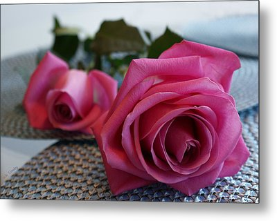 Ode To The Rose Metal Print by Joanne Smoley