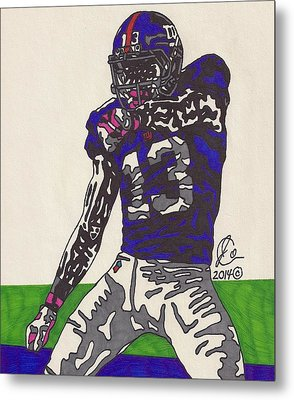 Odell Beckham Jr  Metal Print by Jeremiah Colley