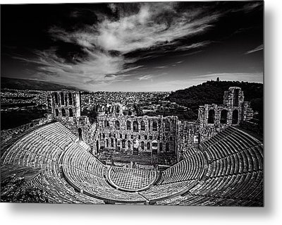 Odeon Of Herodes Atticus Metal Print by Ian Good