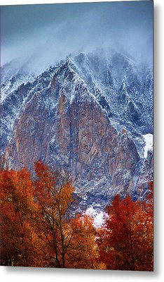 Of Fire And Ice Metal Print
