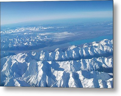 Of Peaks And Lakes Metal Print