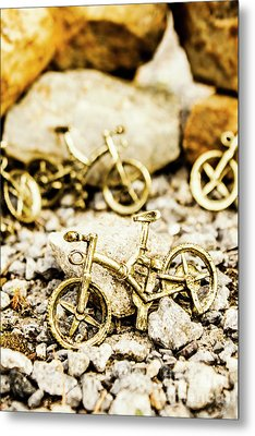 Off Road Bike Trinkets Metal Print
