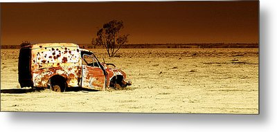 Off Road Metal Print by Holly Kempe