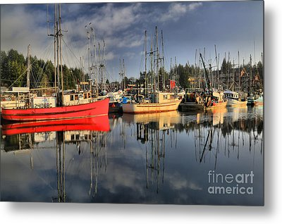 Off Season In Ucluelet Metal Print by Adam Jewell