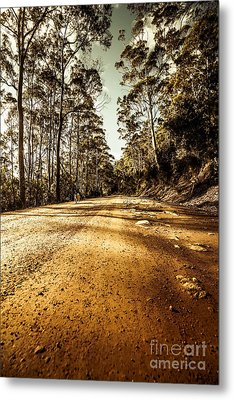 Off The Beaten Track Metal Print by Jorgo Photography - Wall Art Gallery