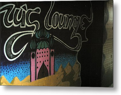 Off To The Lounge Metal Print by Jez C Self
