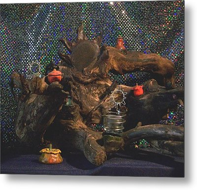Metal Print featuring the photograph Offerings by Carolyn Cable