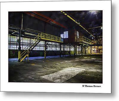Metal Print featuring the photograph Office by R Thomas Berner