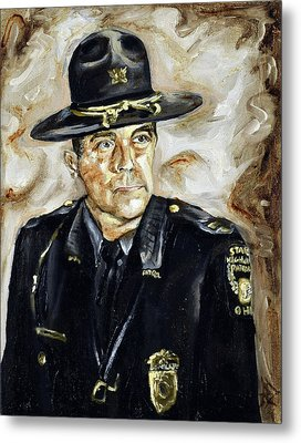 Officer Demaree Metal Print
