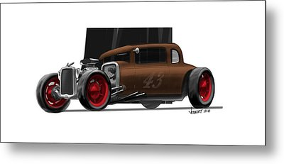 Og Hot Rod Metal Print
