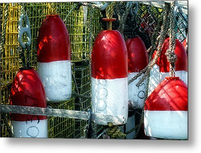 Oh Bouy Metal Print by Gina Cormier