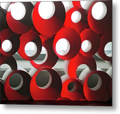 Metal Print featuring the photograph Oh by Elvira Butler