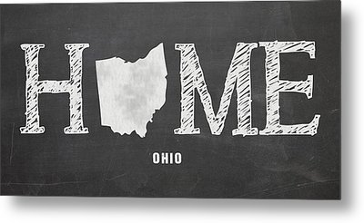 Oh Home Metal Print