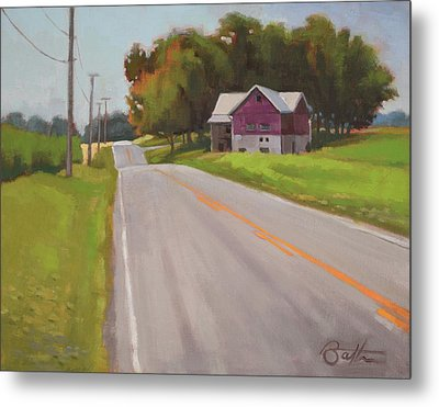 Ohio Farm Metal Print by Todd Baxter