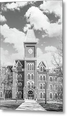 Ohio State University Hall Metal Print by University Icons
