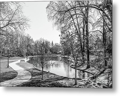 Ohio State University Mirror Lake Metal Print