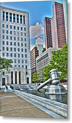 Ohio Supreme Court Metal Print