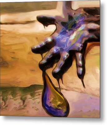 Oil Painting Metal Print by Shelley Bain