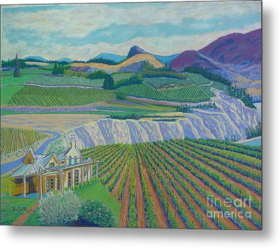 Okanagan Valley Metal Print