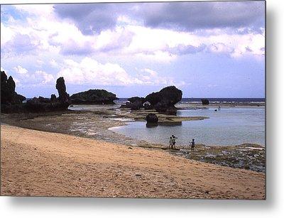 Okinawa Beach 18 Metal Print by Curtis J Neeley Jr