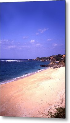 Okinawa Beach 22 Metal Print by Curtis J Neeley Jr