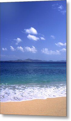 Okinawa Beach 8 Metal Print by Curtis J Neeley Jr