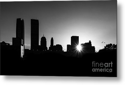Metal Print featuring the photograph Oklahoma City by Betty LaRue