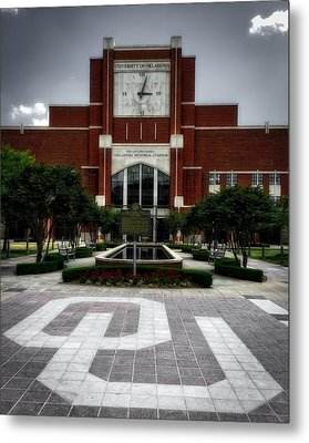 Oklahoma Memorial Stadium Metal Print