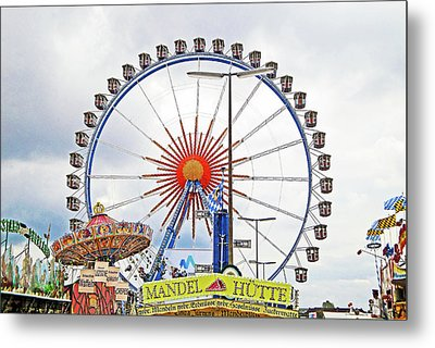 Oktoberfest 2010 Munich Metal Print by Robert Meyers-Lussier