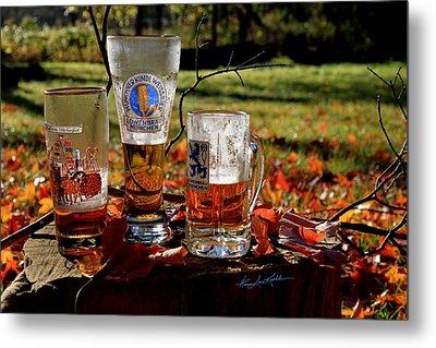 Oktoberfest Ist Wunderbar Metal Print by Hanne Lore Koehler