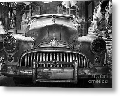 Metal Print featuring the photograph Ol' Buick Eight by Dean Harte