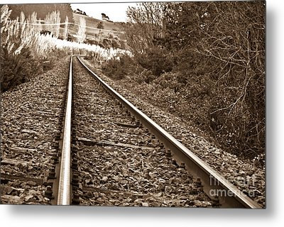 Metal Print featuring the photograph Old Abundant Railway by Yurix Sardinelly
