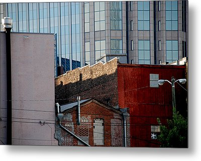 Old And New Close Together Metal Print by Susanne Van Hulst