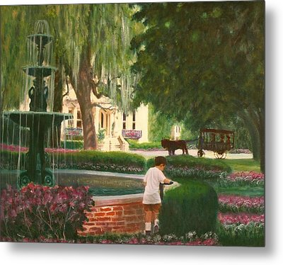 Old And Young Of Savannah Metal Print by Ben Kiger