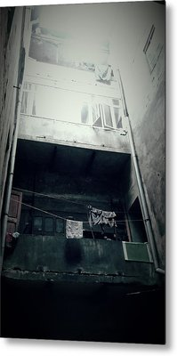 Old Apartment Metal Print by Tetyana Kokhanets