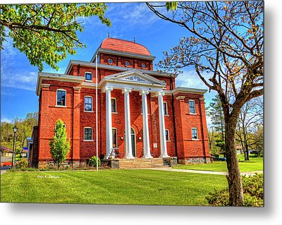 Old Ashe Courthouse Metal Print