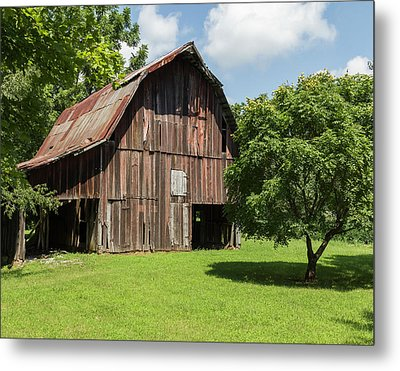 Old Barn Metal Print by William Morris