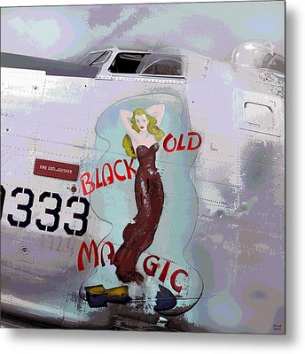 Old Black Magic Metal Print by Charles Shoup