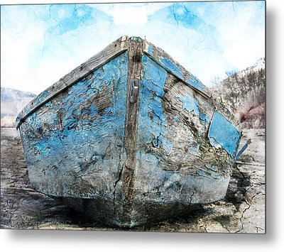 Old Blue # 2 Metal Print