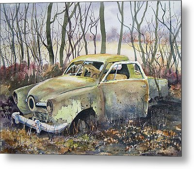 Old Bullet Nose Metal Print by Sam Sidders