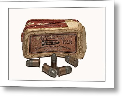 Old Bullets Metal Print by Susan Leggett