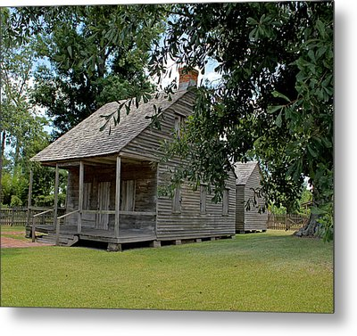 Old Cajun Home Metal Print by Judy Vincent